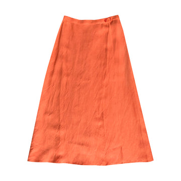 WRAP SKIRT - CORAL