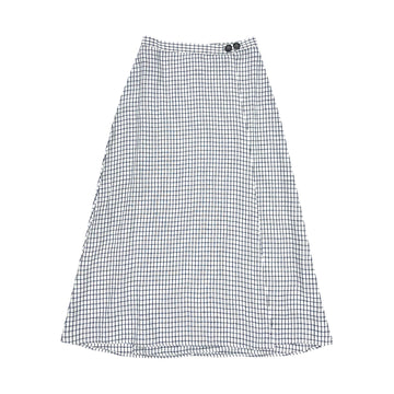 WRAP SKIRT - GRID