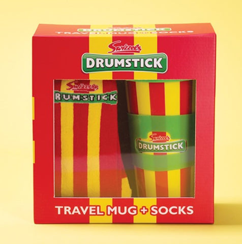 Swizzels Drumstick Travel Mug & Socks
