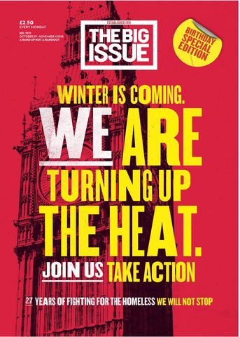 Big Issue Magazine 1331 (29 Oct 2018)