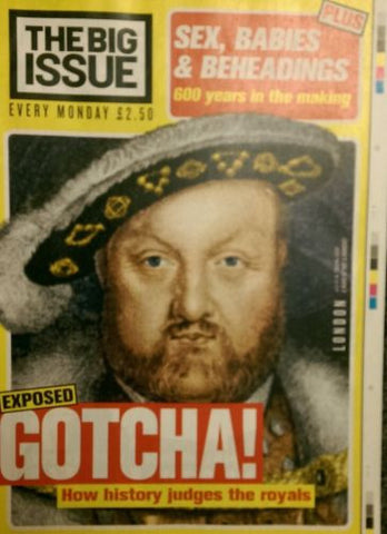 Big Issue Magazine Sex Babies and Beheadings