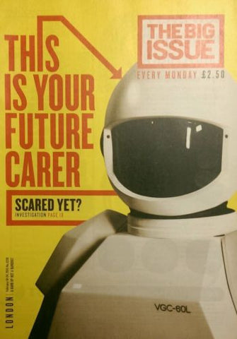 Big Issue Magazine Robots Can Robots Care?