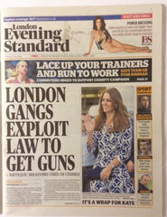 London Evening Standard Thu 17 April 2014 Kate Middleton Prince William
