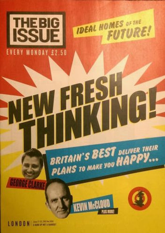 Big Issue Magazine New Fresh Thinking