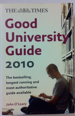 The  Times  Good University Guide: 2010 by John O'Leary (Paperback, 2009)