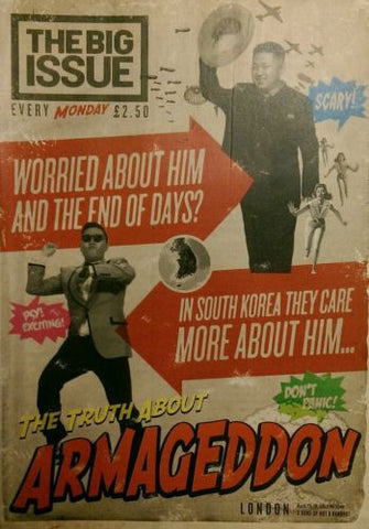 Big Issue Magazine The Truth About Armageddon