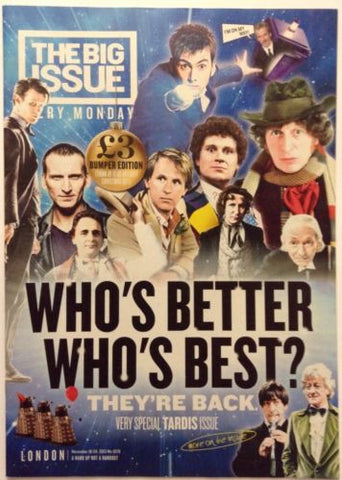 Big Issue Magazine Dr Who