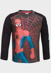Boys Spiderman Long Sleeve Top