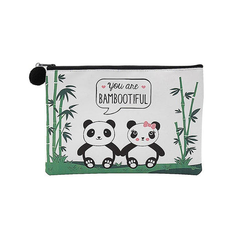 Bambootiful Panda Pencil Case / Make Up Bag / Small Bag