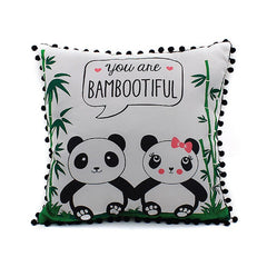 Bambootiful Panda Cushion