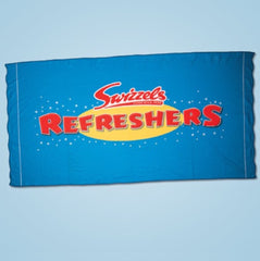 Swizzels Refreshers Beach Towel with Beach Bag