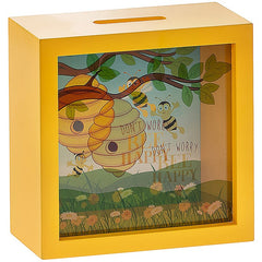 Bee Happy Money Box