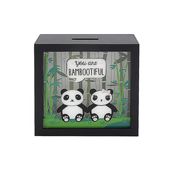 Bambootiful Panda Money Box