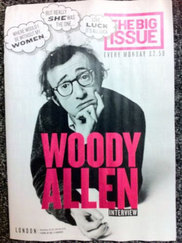 Big Issue Magazine  Woody Allen Interview