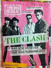 Big Issue Magazine  The Clash 4 Page Interview