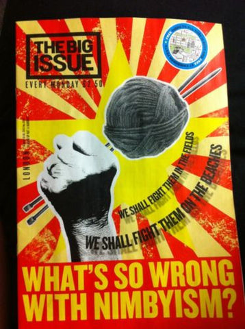 Big Issue Magazine (London Edition) Issue 1064 August 12 - 18 2013 NImbyism