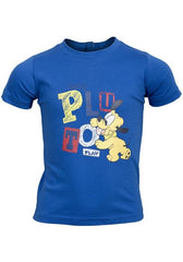 Boys Disney Baby Pluto T-Shirt Blue Ages 12mths - 30mths