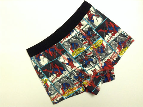 Boys Amazing Spiderman Boxerbriefs Boxer Shorts