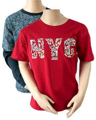 Set of 2 Boys NYC 100% Cotton Tshirts. Age 7/8 9/10 11/12