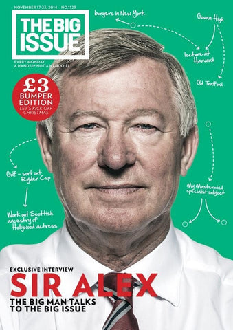 Big Issue Magazine 1129 (17 November 2014)