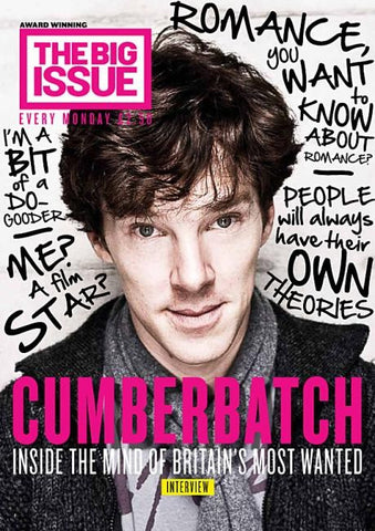 Big Issue Magazine Cumberbatch Sherlock