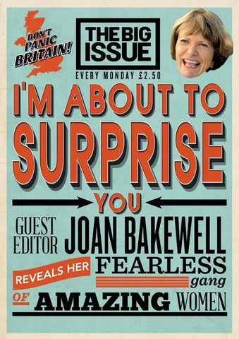 Big Issue Magazine Issue 1120 (15 Sept 2014)