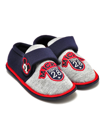 Boys Disney Mickey Mouse 'Retro' Slippers