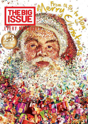 Big Issue Magazine Christmas 2013 London Edition