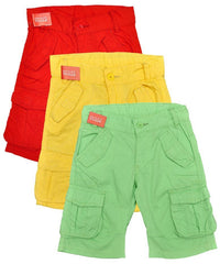 Boys Cotton Cargo Shorts ~ Ages 3-7