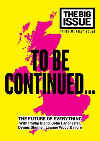 Big Issue Magazine Issue 1121 (22 September 2014)