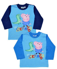 Boys Peppa Pig 'George Pig' Long Sleeve Top