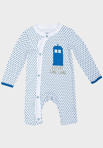 Boys Doctor Who 'Future Time Lord' Romper Suit