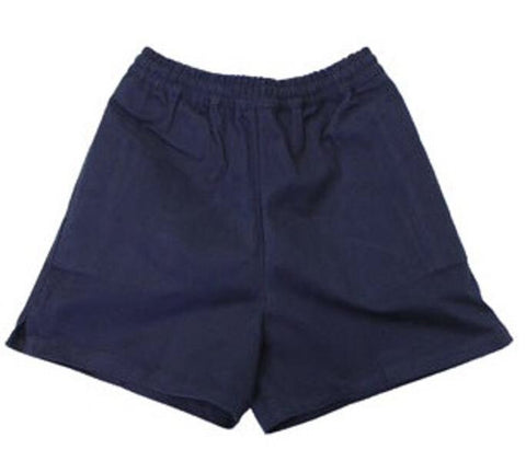 Boys Navy PE/Gym Shorts