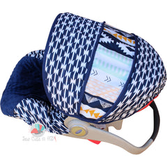 Tomahawk Stripe Infant Car Seat Cover