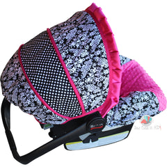 Damask Infant Car Seat Cover