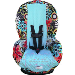 Flower Shower Clementine Toddler Car Seat Cover