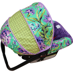 Love Bliss Emerald Infant Car Seat Cover