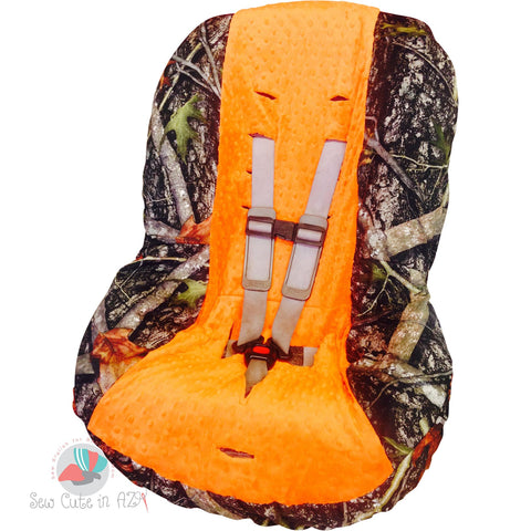 Camouflage Toddler Car Seat Cover