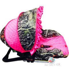 Girl Camouflage Infant Car Seat Cover