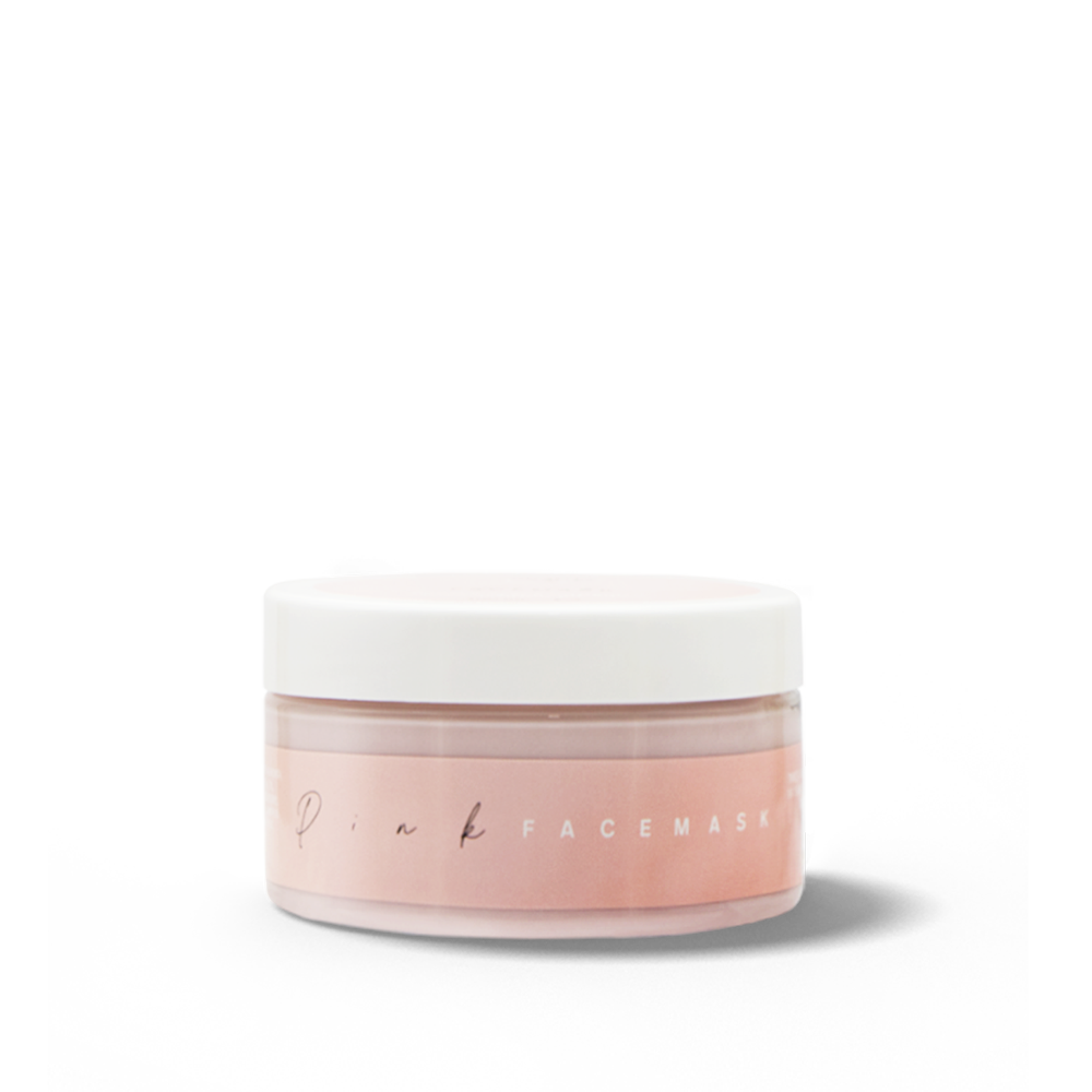 Pink Facemask, Beauty By BB, (SKU-BBB1003)