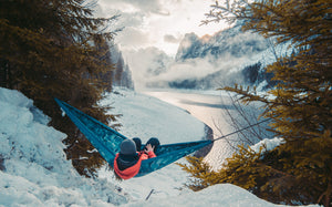How to Stay Warm in a Hammock in the Winter