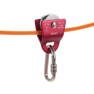 Micro Pulley for Tree Climbing