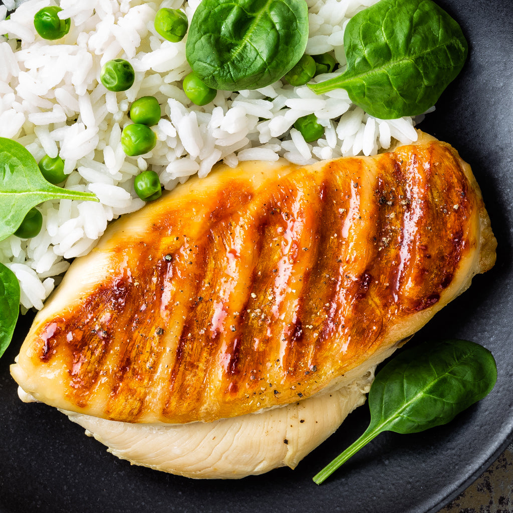 Simply Seasoned Chicken Breasts