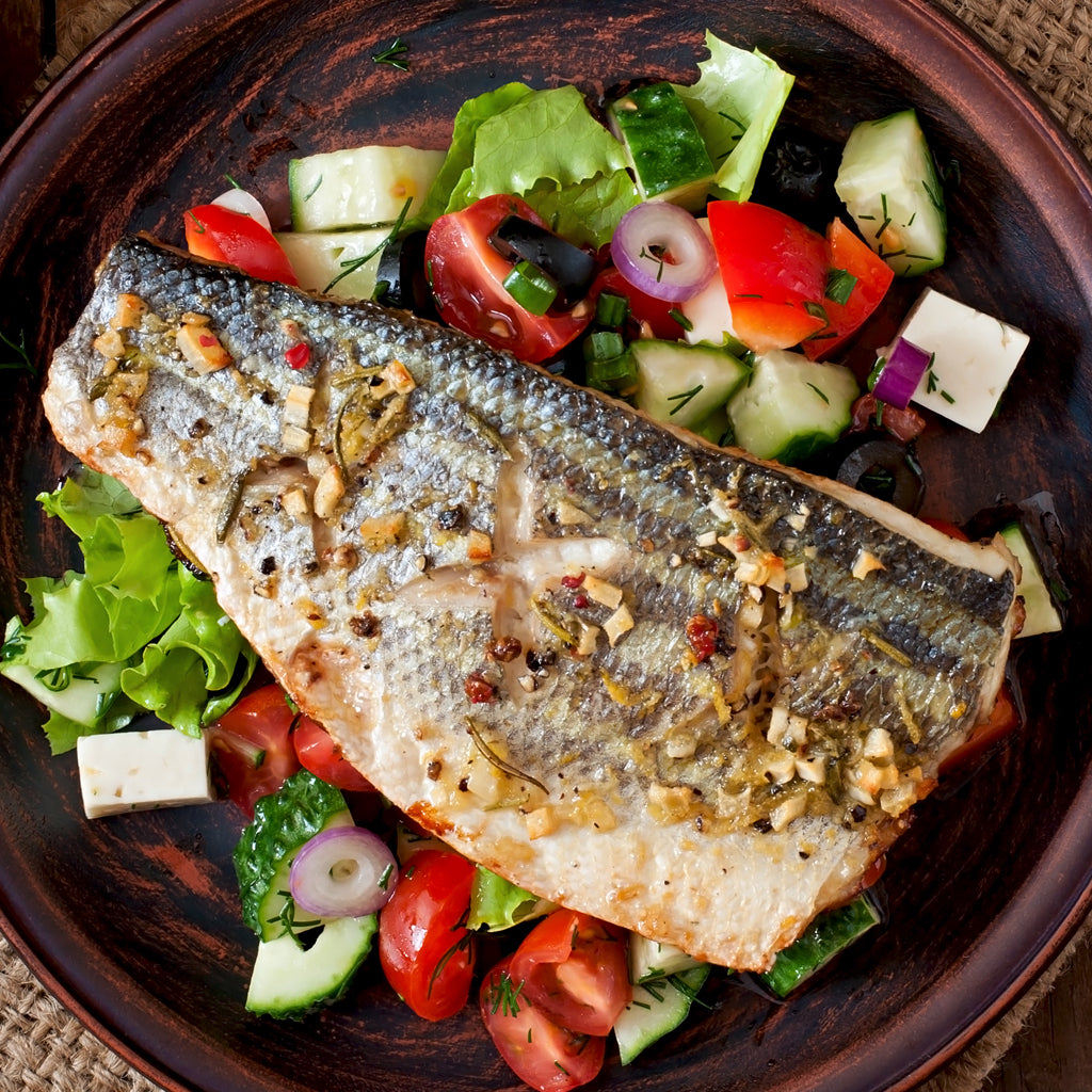 Wild Caught Striped Sea Bass Portion Buy Online