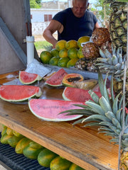 Fruits man in Portmore, St. Catherine