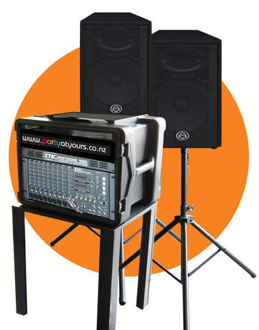 Large Sound System Hire Auckland