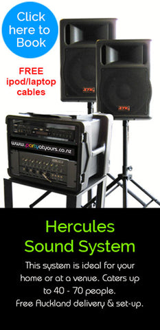 Sound Hire PA Systems | Free Delivery | Auckland – Party Sounds