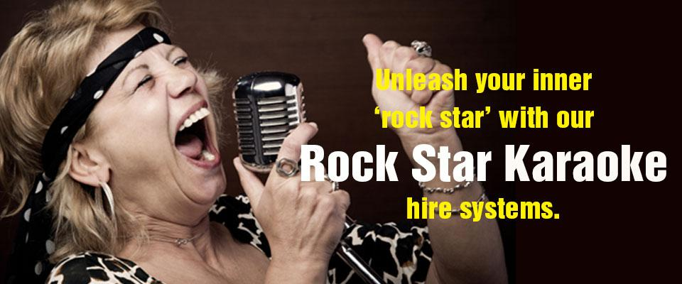 Karaoke hire systems for adults