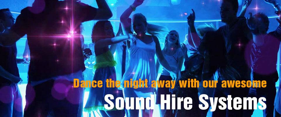 Sound hire systems