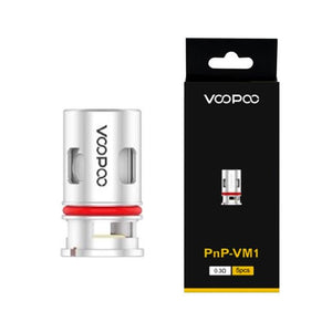 VooPoo Vinci PnP Replacement Coils (5 Pack) - PnP-VM1